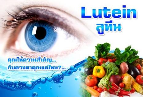 สารสกัดลูทีน ยาบำรุงสายตาลูทีน